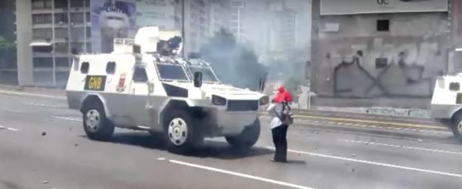 Come Tienanmen: il Venezuela socialista sull'orlo dell'abisso (video)