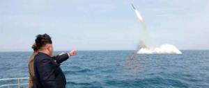 Pyongyang, nuova provocazione: missile balistico nel mar del Giappone