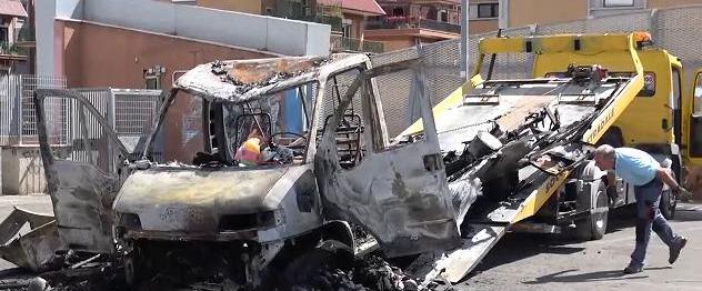Centocelle, sorelle morte nel rogo del camper: due rom indagati