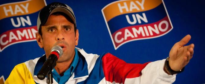 Il Venezuela affonda: ma al governo c'è la sinistra, e il mondo non ne parla