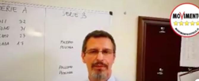 """""""Serie A truccata, il Crotone andrà in B"""". Pernacchie sui profeti M5s (VIDEO)"""