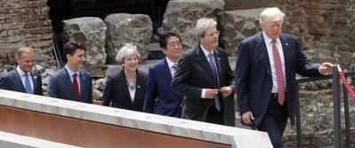 """Il G7 incastra Gentiloni: """"Gli Stati devono controllare i loro confini"""""""