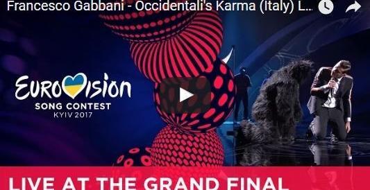 Eurovision Song Contest, Gabbani è solo sesto, ma seduce la critica (video)