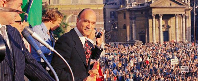 29 anni fa moriva Giorgio Almirante: innovatore, maestro di stile e democrazia