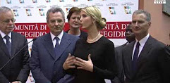 Ivanka incontra a Sant'Egidio le donne vittime dei trafficanti (video)