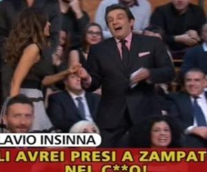 """Striscia replica a Insinna: """"Sei un rosicone, rispondi a queste 5 domande"""" (VIDEO)"""