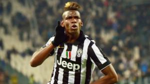 Pogba con la maglia della Juventus
