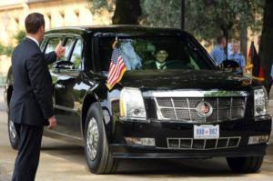 Trump viaggerà su un'auto blindata da 8 tonnellate, chiamata la Bestia