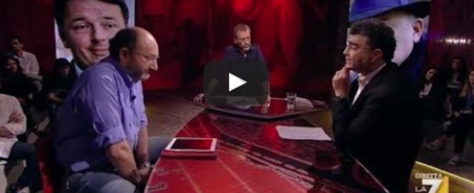 """Rissa tv tra il giornalista del """"Fatto"""" e Fiano (Pd): «Mi prendi per il culo!» (video)"""