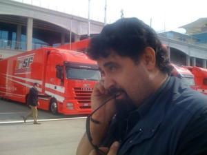 Lucio Rizzica, inviato Sky (foto dal profilo Facebook)