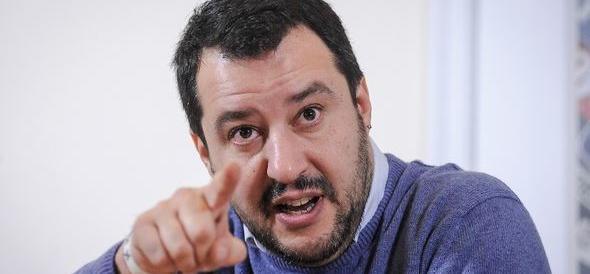 Salvini: «Toghe rosse, Pd e M5S vogliono l'Italia come al Turchia»