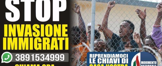 Movimento Nazionale, campagna per la sicurezza: «Riprendiamoci le chiavi di casa»
