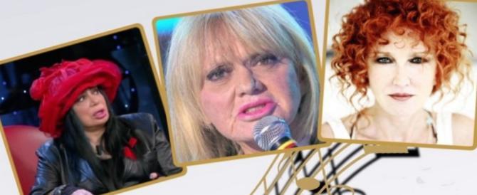 """Rita Pavone disse:""""Prima gli italiani"""". La Mannoia la punisce: """"Non deve cantare"""""""