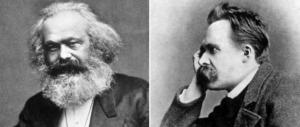 Ieri e oggi, e se a Parigi Marx e Nietzsche si riprendessero per mano?