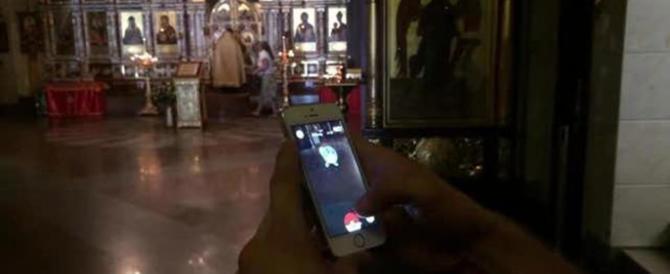 Giocava a Pokemon Go in Chiesa: condannato il blogger russo
