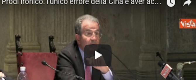 """Prodi resta ossessionato da Berlusconi: """"I cinesi hanno sbagliato a comprare il Milan"""" (VIDEO)"""
