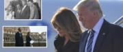Trump snobba la Raggi, neanche una stretta di mano. Roma resta oscurata