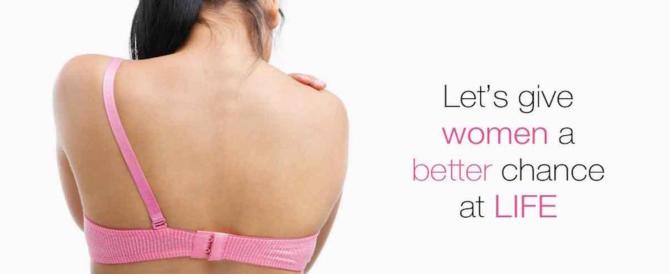 Cancro al seno, in arrivo il reggiseno a sensori in grado di rilevare il male