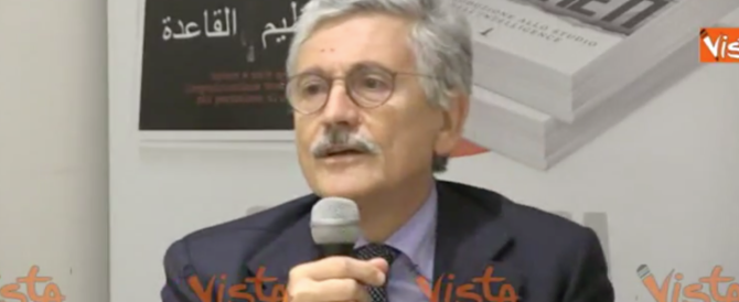 D'Alema: tra un calabrese e un arabo non c'è differenza, non li distingui (video)