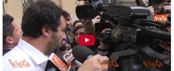 Rogo di Centocelle, Salvini rigetta le provocazioni: no a polemiche su bimbi morti (video)