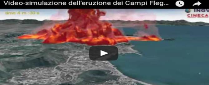 Campi Flegrei, bomba a orologeria: si teme un'eruzione a breve (VIDEO)