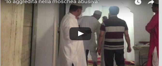 Troupe aggredita dai bengalesi nella moschea abusiva di Torpignattara (VIDEO)