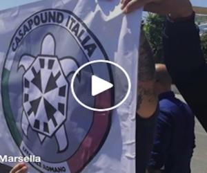 Ostia, Casapound contro la Boldrini: «No a politiche pro-migranti e anti-italiane (VIDEO)