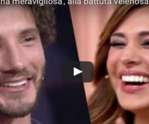 Selfie, l'ospite a De Martino: «Hai perso una donna meravigliosa»: Belen gongola (VIDEO)