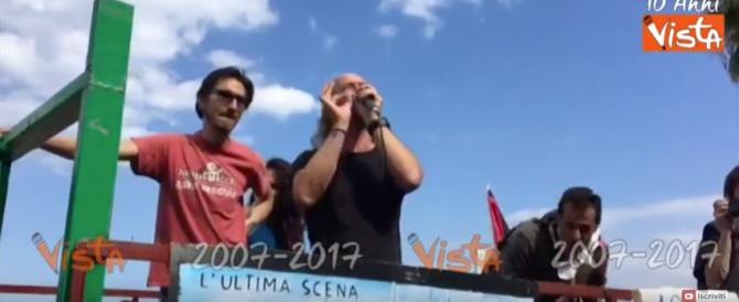 Taormina, senza qualche scontro non sarebbe stato un vero G7… (video)