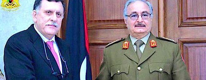 Libia, raggiunto un accordo tra Haftar e al Serraj sulle presidenziali