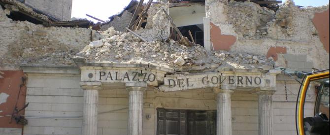 Terremoto dell'Aquila, lo Stato vuole indietro i soldi pagati per le vittime