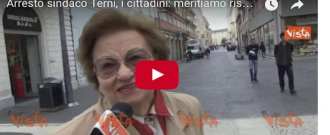 """Arresto del sindaco Pd di Terni, rabbia tra i cittadini: """"Hanno fatto bene"""" (video)"""