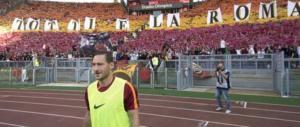 Totti Day, boato per Francesco, fischi per Spalletti (VIDEO)