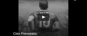 La richiesta di Candela a Totti: «Gioca un altro anno con la Roma» (video)