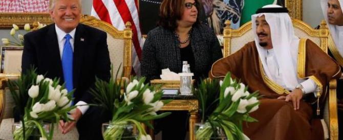 Trump a Riyad: «Investimenti per centinaia di miliardi. E tanti posti di lavoro»