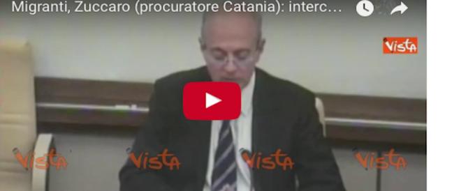 """Ong, Zuccaro insiste: """"Non sono tutti filantropi. Servono le intercettazioni"""" (video)"""