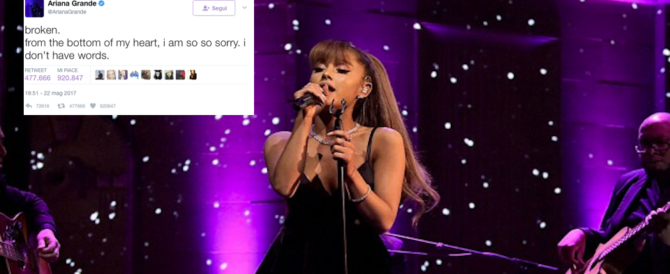 Ariana Grande annulla il tour in Europa fino al 5 giugno. Confermate le tappe in Italia