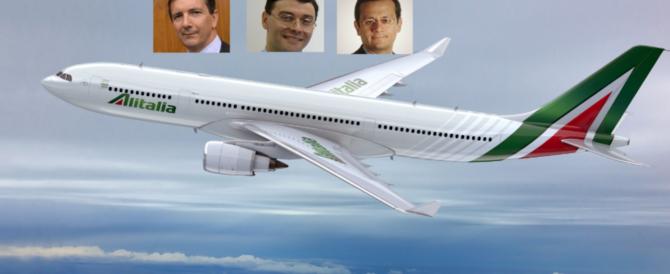 """Alitalia, il governo """"presta"""" 600 milioni e nomina tre commissari: ecco chi sono"""