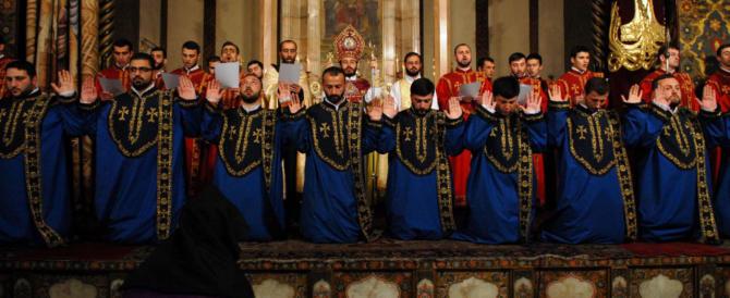 Dai caldei agli armeni, ai copti: sono 15 milioni i cristiani in Medio Oriente