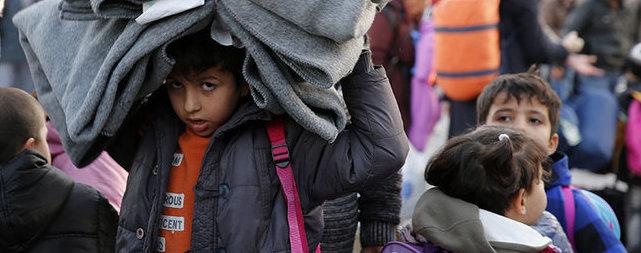 Quasi tutti i bambini che sbarcano in Italia non sono accompagnati