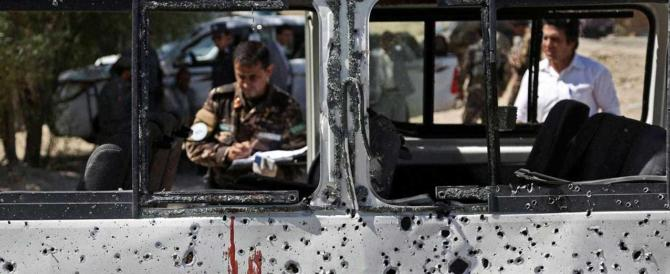 Iniziata l'offensiva di Primavera: bomba Isis a Kabul fa strage: 8 morti