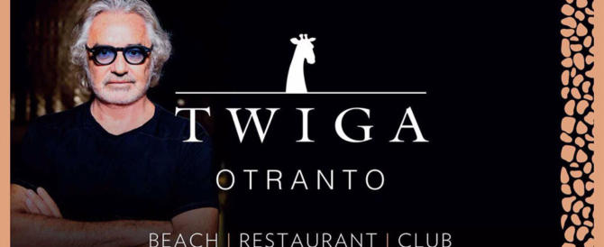 """Briatore ancora nel mirino: sequestrato il """"Twiga Beach"""" di Otranto"""