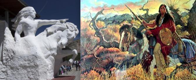 La vendetta di Cavallo Pazzo: a lui la statua più grande del mondo (190 mt)