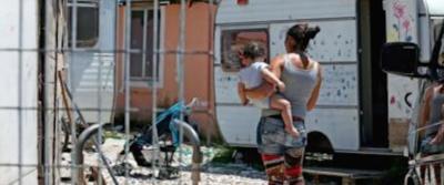 A Roma è allarme: 500 camper di rom parcheggiati in città. La rabbia della gente