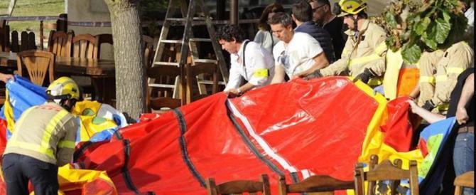 Tragedia al ristorante: esplode un castello gonfiabile, muore una bimba