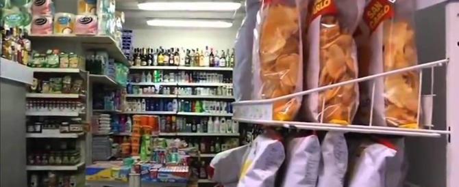 Roma, frutta di giorno, droga di notte: la polizia chiude un minimarket a San Lorenzo