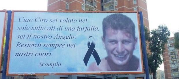 """Tre anni fa la morte di Ciro Esposito: a Scampia nasce l'Onlus """"Ciro vive"""" (VIDEO)"""