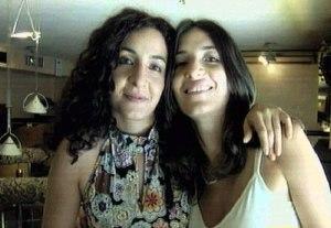 Le sorelle Daniela e Paola Bastianutti