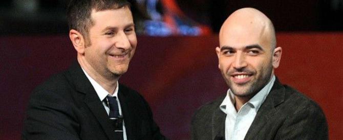 """Fazio e Saviano: i """"soliti noti"""" di sinistra su Rai1 per Falcone e Borsellino…"""