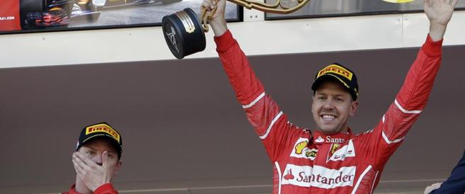 Italia-Germania 2-0: doppietta Ferrari, Vettel trionfa con lo sterzo rotto